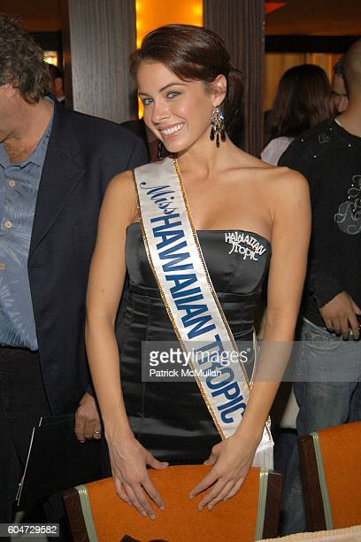 Hawaiian Tropic Model attends Private Grand Opening For Hawaiian Tropic Zone at Hawaiian Tropic Zone on September 21 2006 in New York City
