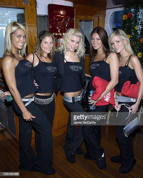 Hawaiian Tropic Models during 2005 Cannes Film Festival AnheuserBusch Hosts Arclight / Trigger Street Party at AnheuserBusch Big Eagle Yacht in...