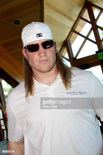 J Hawk attends Backstage Creations at the American Century Golf Tournament on July 16 2009 in Stateline Nevada