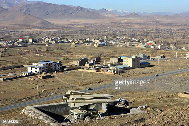 Hawk surfacetoair missiles are seen in Khandab near Arak 290 kms southwest of the Iranian capital Tehran during military manoeuvres on November 26...