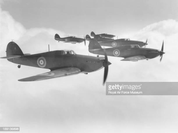 Hawker Hurricane Mk Is of 111 Squadron Northolt 1938