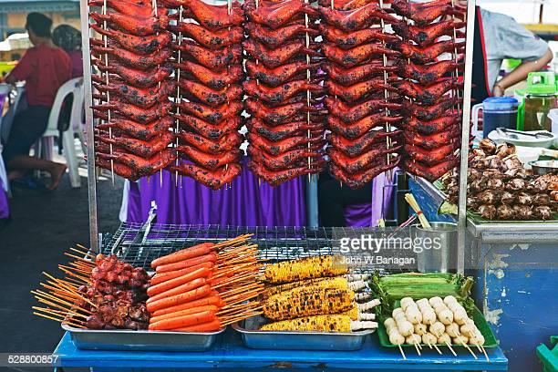 Hawker market. Kota Kinabalu, Sabah, Malaysia