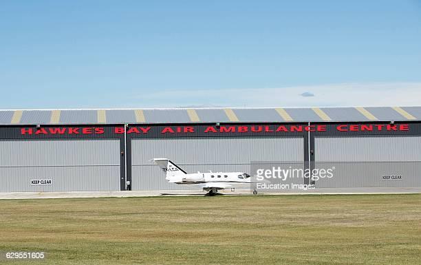 Hawkes Bay Air Ambulance Centre and Cessna 510 Citation Mustang twinjet New Zealand