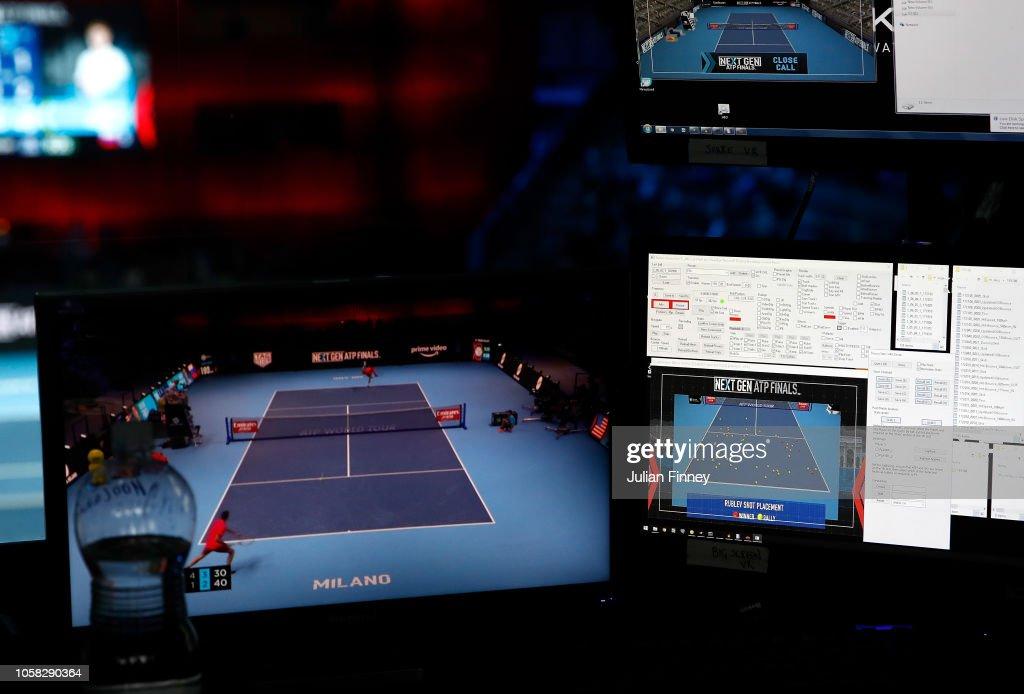 Next Gen ATP Finals - Day One : ニュース写真