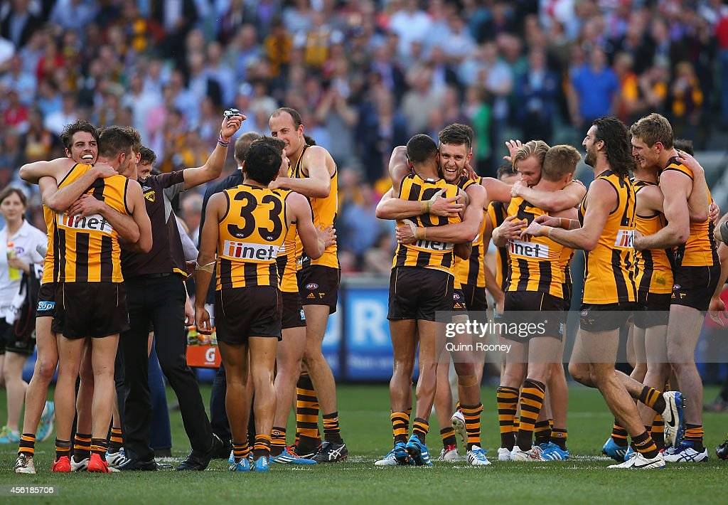 2014 AFL Grand Final - Sydney v Hawthorn : News Photo