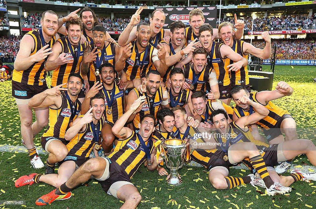 2014 AFL Grand Final - Sydney v Hawthorn : News Photo