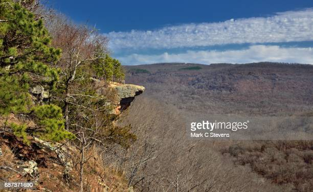 Hawksbill Crag and the Boston Mountains