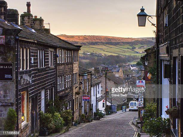 haworth - bradford england stock pictures, royalty-free photos & images