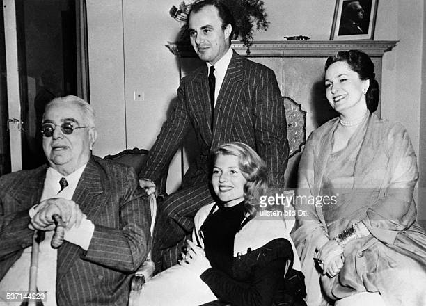 Haworth Rita Schauspielerin USA vllnr Aga Khan Ali Khan Rita Hayworth Begum Aga Khan 1949