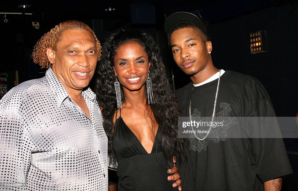 hawthorne james kim porter and chingy during behind the scenes of the movie the
