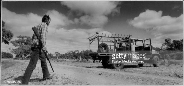 Hay Post Office Kangaroo ShooterDave Wilson of Hayjust $10000 on 4wd and rifle but has no quota to fill January 01 1985