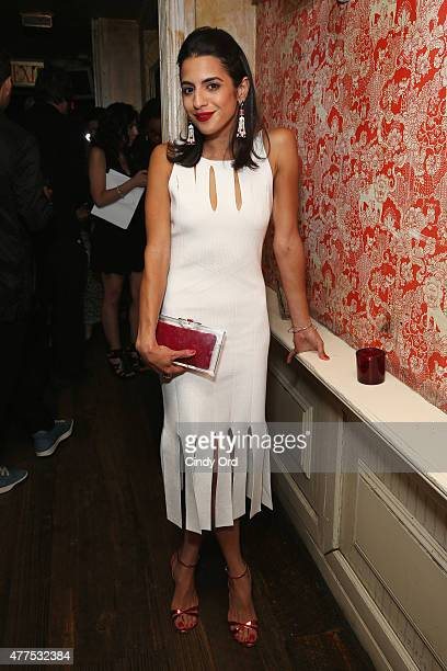 Haya Maraka attends the Casa Reale Fine Jewelry Launch at The Box on June 17 2015 in New York City