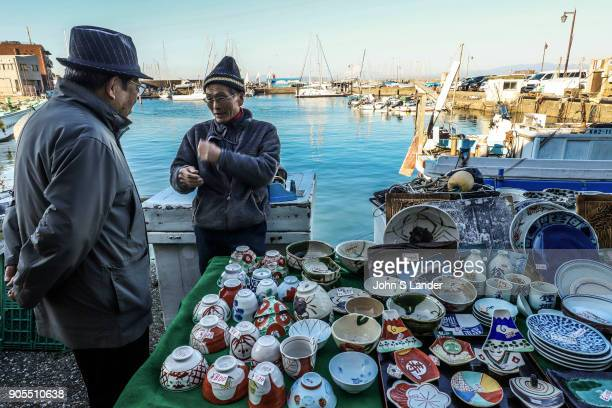 Hayama Morning Market kicks off at 8 every Sunday morning and is well stocked with local seafood fish and products from local bakeries Hayama...