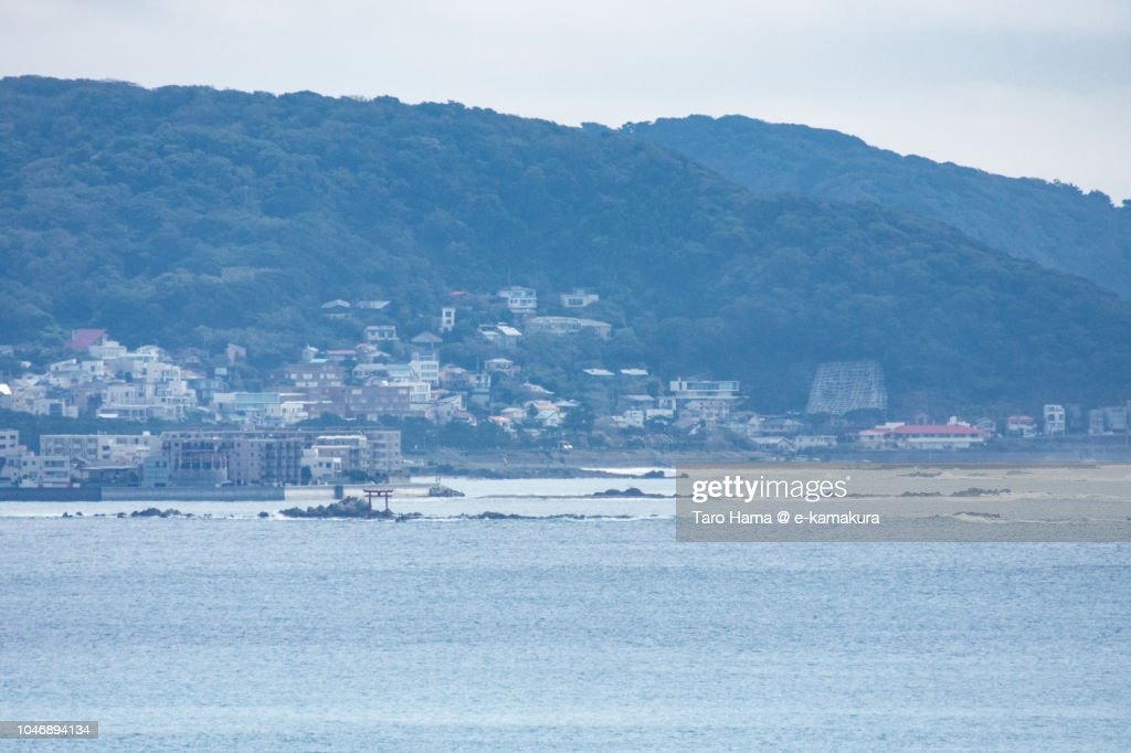 Hayama town and Yokosuka city in Kanagawa prefecture in Japan Japan : ストックフォト