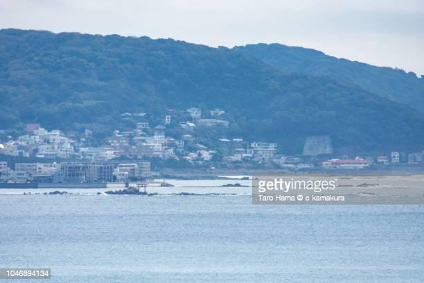 Hayama town and Yokosuka city in Kanagawa prefecture in Japan Japan