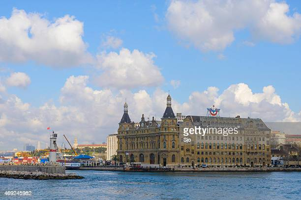 Haydarpasa Terminal train station in Istanbul, Turkey