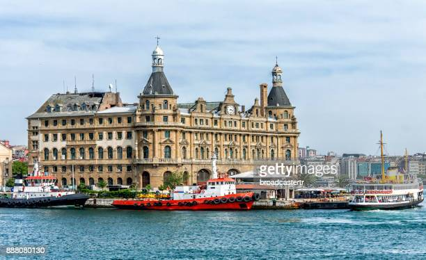haydarpasa train station, kadikoy, istanbul - istanbul province stock photos and pictures
