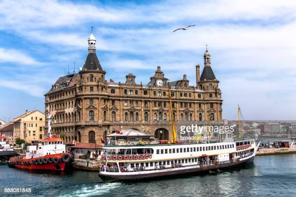 haydarpasa train station, kadikoy, istanbul - kadikoy stock photos and pictures