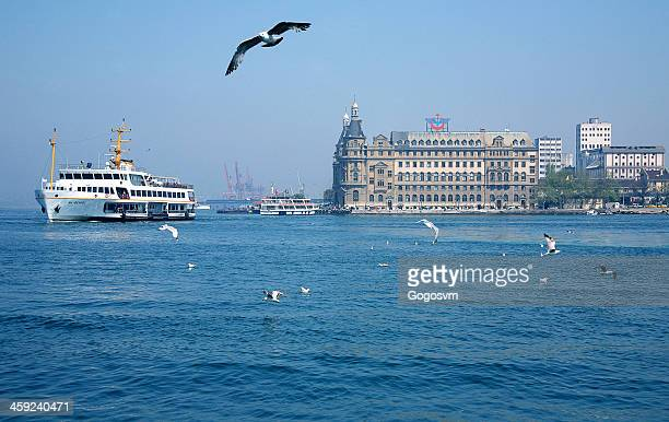 haydarpasa train station - haydarpasa stock photos and pictures