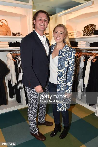 Hayden Arnot and Jane Warnock attend JMcLaughlin Shopping Event to benefit Save the Children at JMcLaughlin on April 5 2018 in New York City
