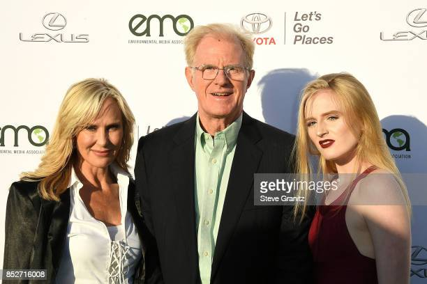 Hayden Carson Begely Rachelle Carson Ed Begley arrives at the 27th Annual EMA Awards at Barker Hangar on September 23 2017 in Santa Monica California