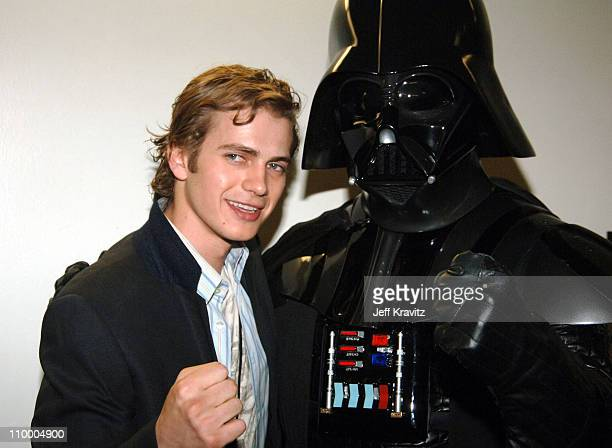 Hayden Christensen and Darth Vader during Nickelodeon's 18th Annual Kids Choice Awards Backstage and Audience at Pauley Pavillion in Los Angeles...