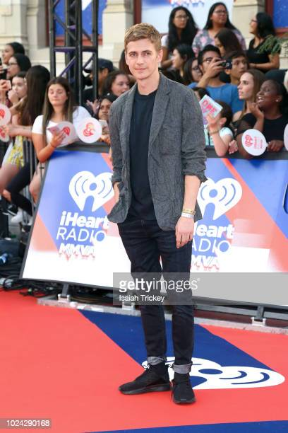 Hayden Christensen arrives at the 2018 iHeartRadio MuchMusic Video Awards at MuchMusic HQ on August 26 2018 in Toronto Canada