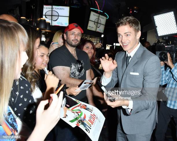 Hayden Christensen attends Little Italy World Premiere at Scotiabank Theatre on August 22 2018 in Toronto Canada