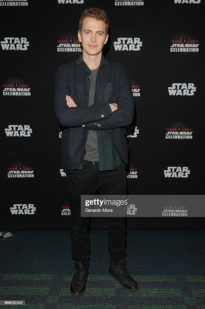 Hayden Christensen attends the 40 Years of Star Wars panel during the 2017 Star Wars Celebration at Orange County Convention Center on April 13, 2017 in Orlando, Florida.