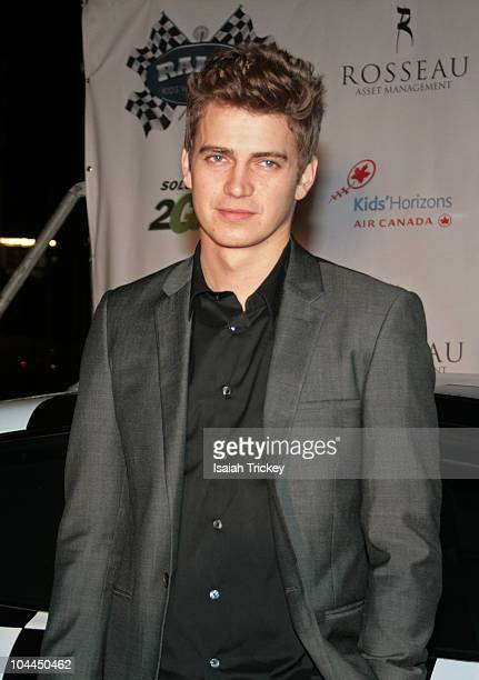 Hayden Christensen attends the Rally For Kids With Cancer Benefit Qualifiers Celebrity Draft at Muzik on September 24 2010 in Toronto Canada