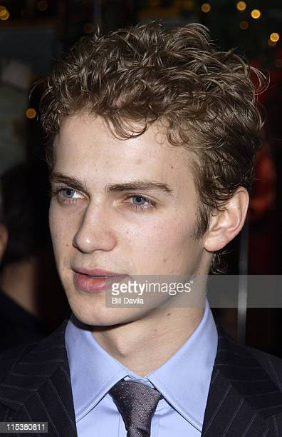 Hayden Christensen during 2001 National Board of Review Awards at Tavern on the Green in New York NY United States