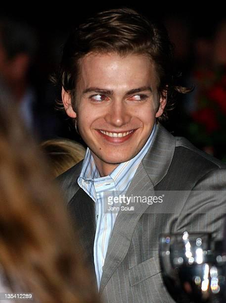 Hayden Christensen during ShoWest 2005 Awards Night Show and Inside at Paris Hotel in Las Vegas Nevada United States