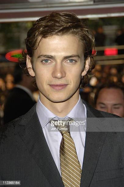 Hayden Christensen during 'Star Wars Episode III Revenge Of The Sith' London Film Premiere Inside Arrivals at Odeon Leicester Square in London Great...