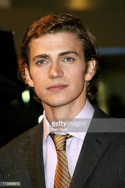 Hayden Christensen during 'Star Wars Episode III Revenge of the Sith' London Premiere at Odeon Leicester Square in London Great Britain