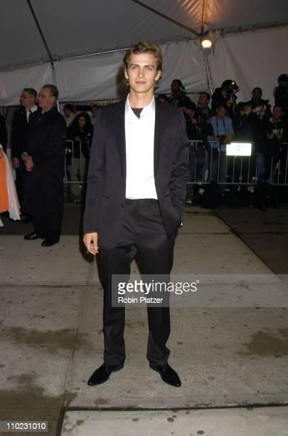 Hayden Christensen during The Costume Institute's Gala Celebrating Chanel at The Metropolitan Museum of Art in New York City New York United States