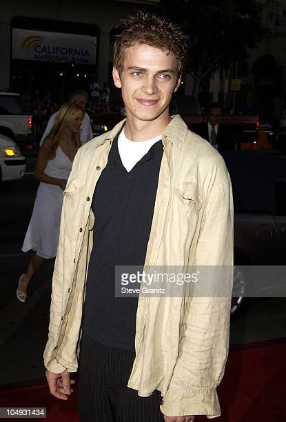 Hayden Christensen during Windtalkers Premiere at Grauman's Chinese Theatre in Hollywood California United States