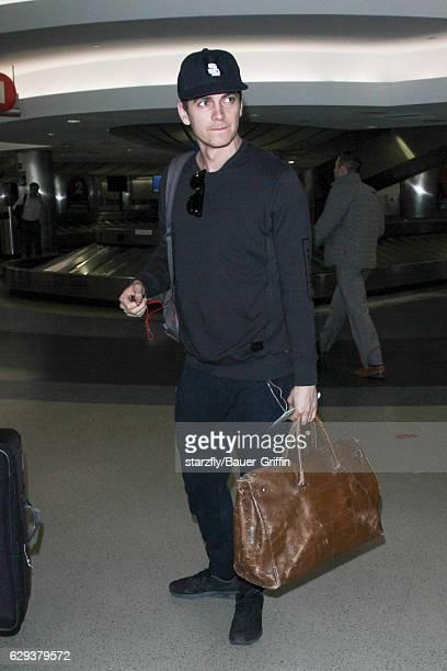 Hayden Christensen is seen at LAX on December 12 2016 in Los Angeles California