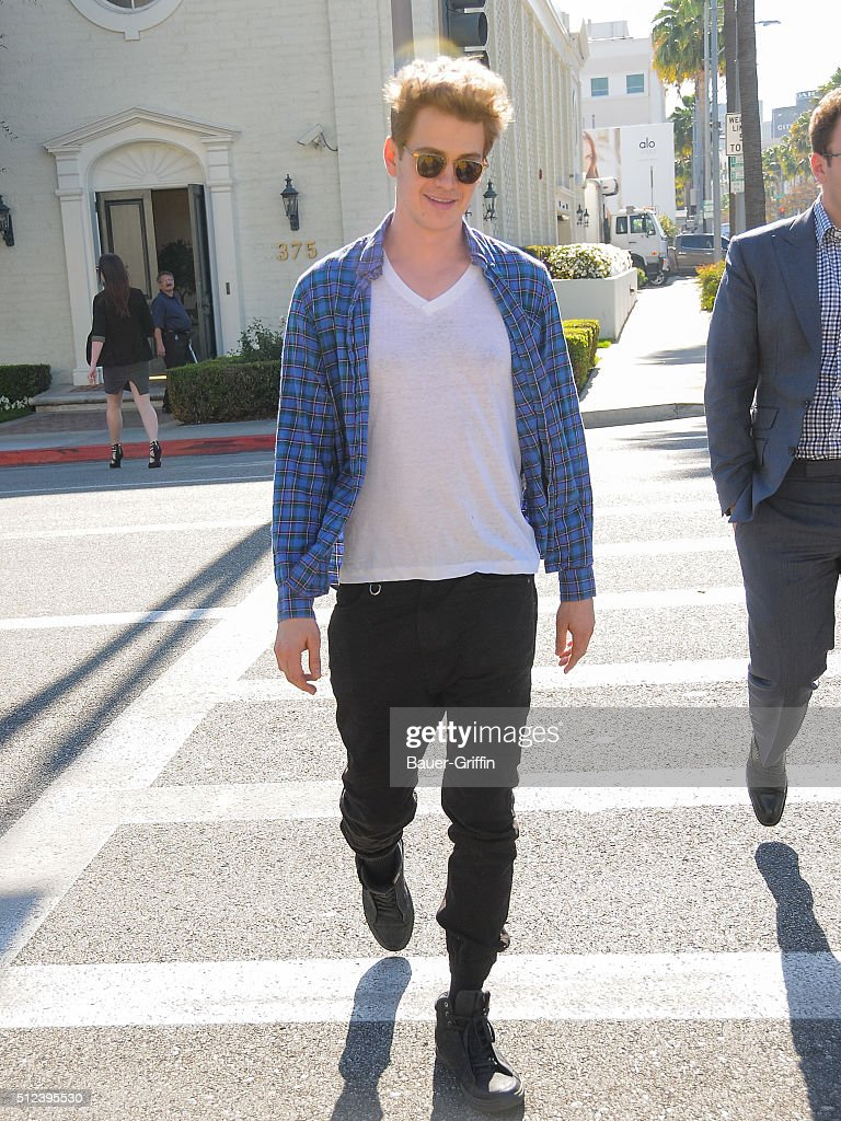 Celebrity Sightings In Los Angeles  - February 25, 2016