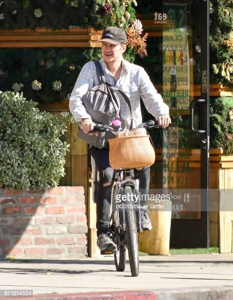 Hayden Christensen is seen on November 06 2017 in Los Angeles California