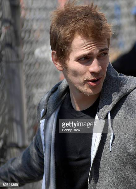 Hayden Christensen on Location for New York I Love You on the streets of Manhattan on April 16 2008 in New York City