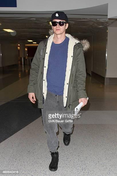Hayden Christensen seen at LAX on March 11 2015 in Los Angeles California