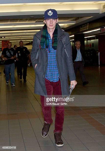 Hayden Christensen seen at LAX on September 17 2014 in Los Angeles California