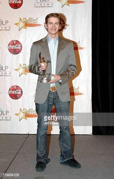 Hayden Christensen winner Male Star of Tomorrow Award