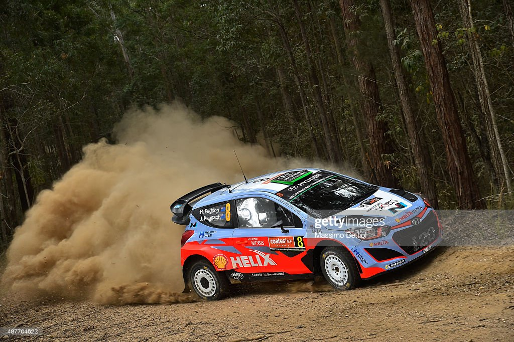 FIA World Rally Championship Australia - Day One