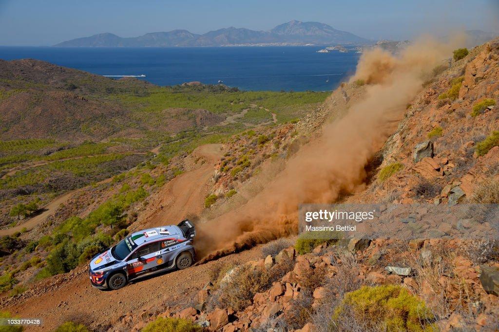 FIA World Rally Championship Turkey - Day Two : News Photo