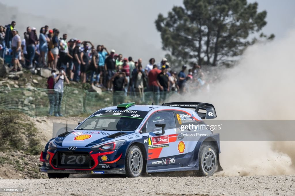 FIA World Rally Championship Portugal - Day Two : News Photo