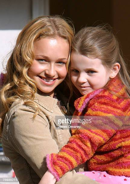 Hayden Panettiere and Abigail Breslin