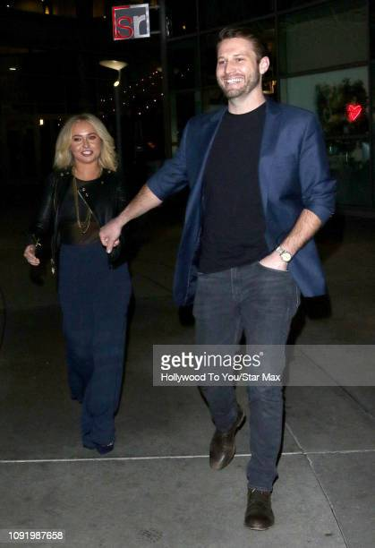 Hayden Panettiere and Brian Hickerson are seen on January 31 2019 in Los Angeles CA