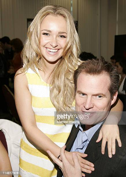 """Hayden Panettiere and Jack Coleman during The Academy of Television Arts and Sciences Presents An Evening with """"Heroes"""" - VIP Reception at Leonard H...."""