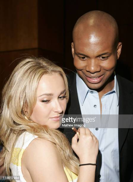 """Hayden Panettiere and Leonard Roberts during The Academy of Television Arts and Sciences Presents An Evening with """"Heroes"""" - VIP Reception at Leonard..."""